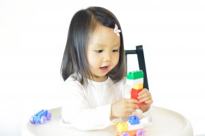 Nursery-school-girl-tower